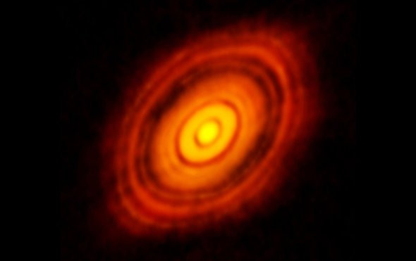 Exoplanets Lurking in Dusty Disks Reveal Their Secrets
