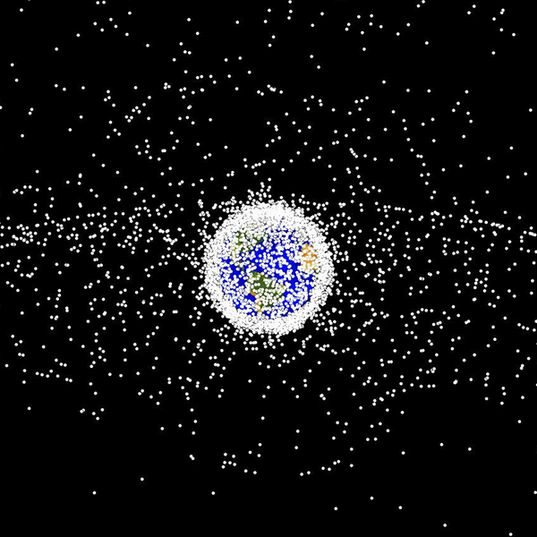 As space junk soars, science turns to nature for ideas