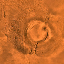 Is there a link between dinosaurs' extinction and this Martian volcano?