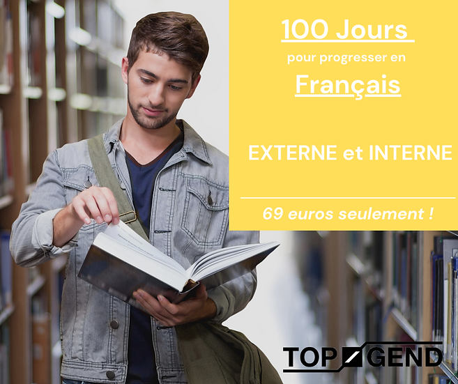 100 jours pour progresser en Français