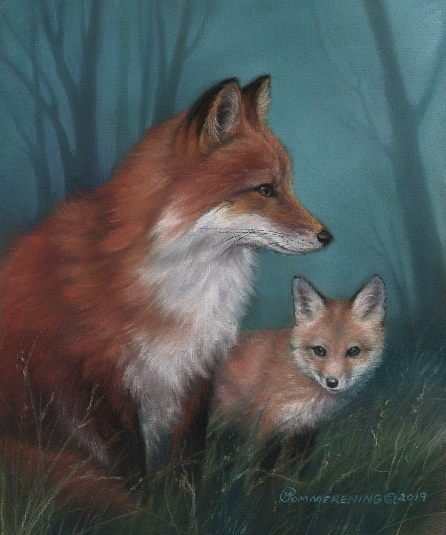 1st choice- SPRING IMAGE Fox & pup
