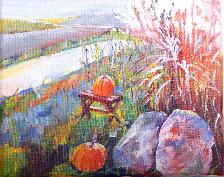 Elaine Seiffert Fall acrylic IMG_1250