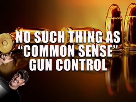 "No Such Thing as ""Common Sense Gun Control"""