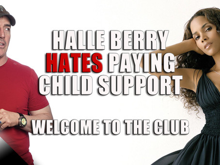 Halle Berry Hates Paying Child Support