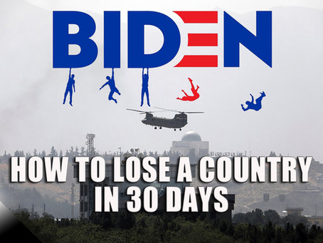 How to Lose a Country in 30 Days