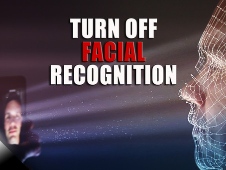 Turn Off Facial Recognition