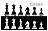 Tracing a chess set