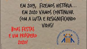 BOAS FESTAS E UM PRÓSPERO 2020!