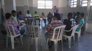Lideranças das Favelas do MDF em reunião com representantes da AES Eletropaulo