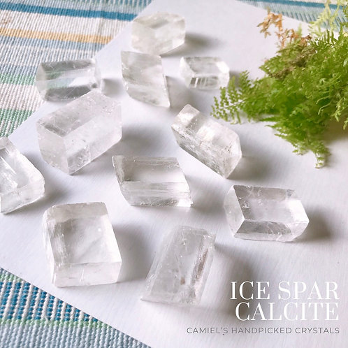 冰晶方解石│ICE SPAR CALCITE