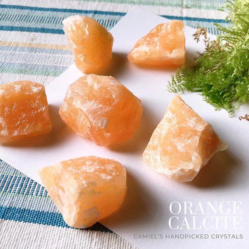 橙色方解石│ORANGE CALCITE