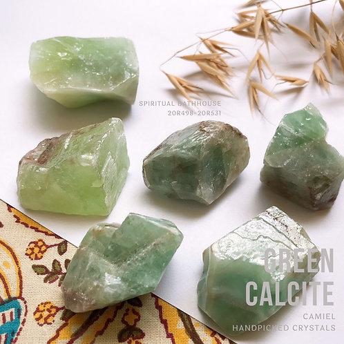 綠色方解石│GREEN CALCITE