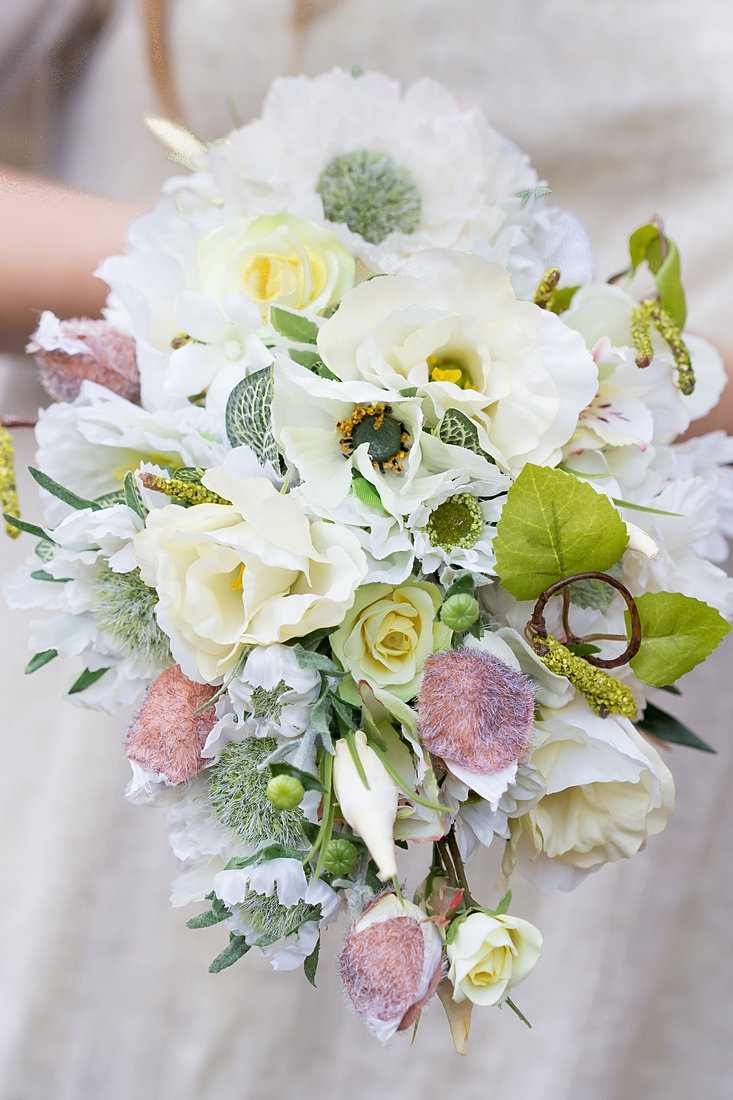 Artificial Wedding Bouquet By Pumpkin And Pye