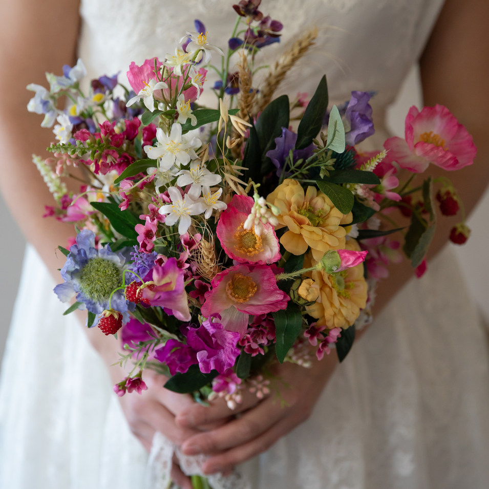 Summer garden artificial bouquet
