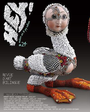 """HEY ! modern art and pop culture #24"", Cover, December 2015.image1.jpg"