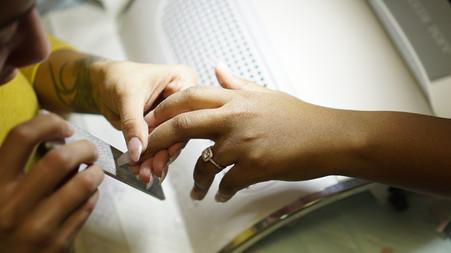 raleigh nail technician