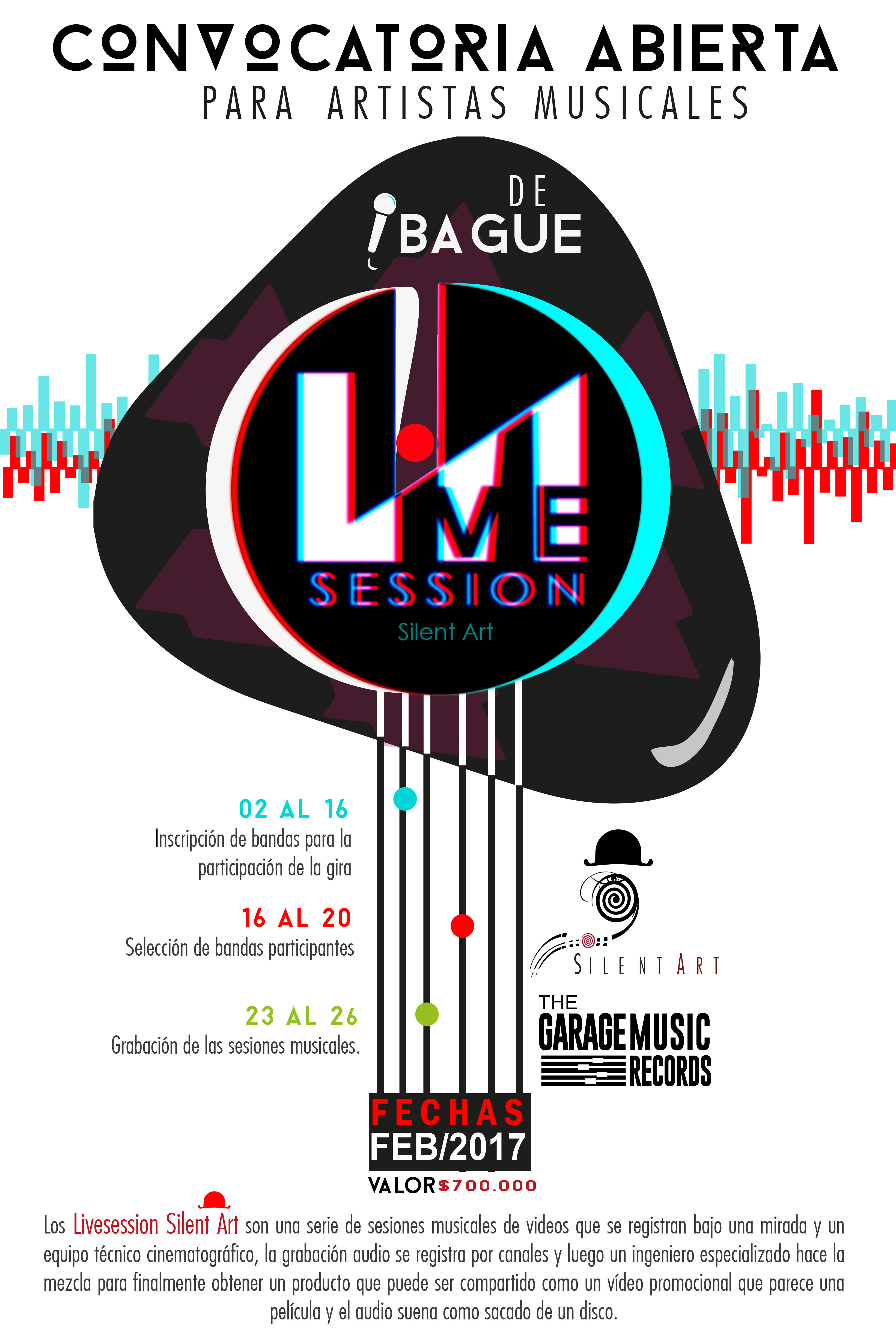 poster live session ibague (1)