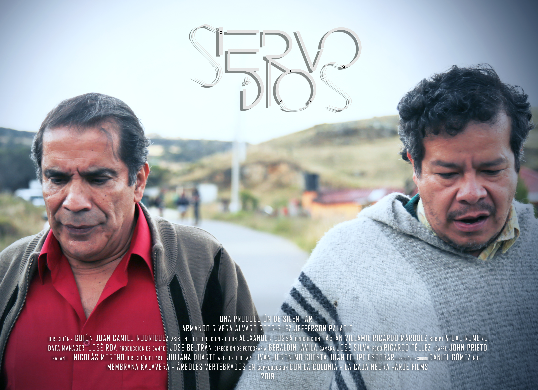 poster siervo de dios 2018 2