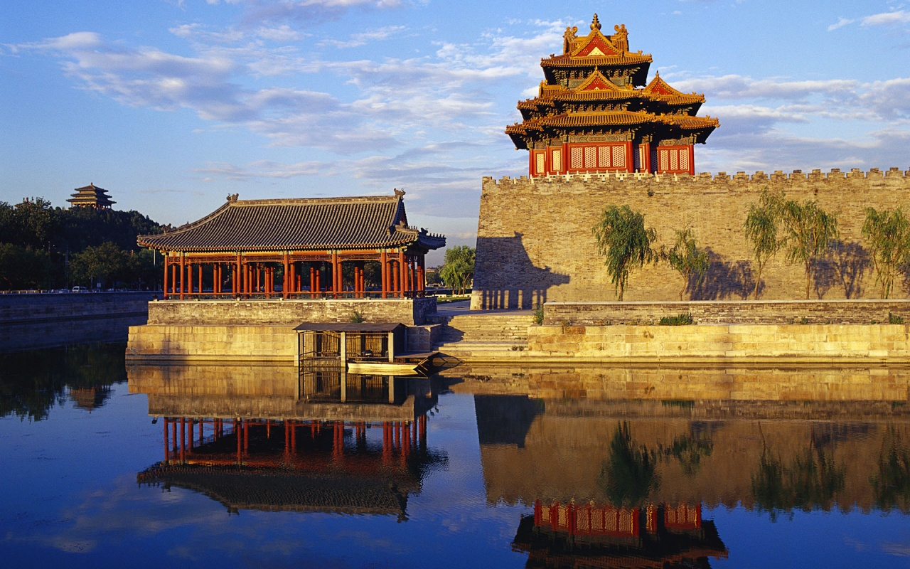 Forbidden City Porticos - A beautiful portico with ...  |Imperial Palace Forbidden City Beijing China
