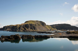 Ellenabeich cliffs from Easdale