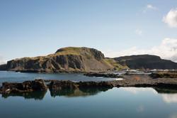 Ellenabeich cliffs from Easdale