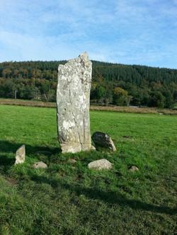 Standing Stone at Kilmartin Glen