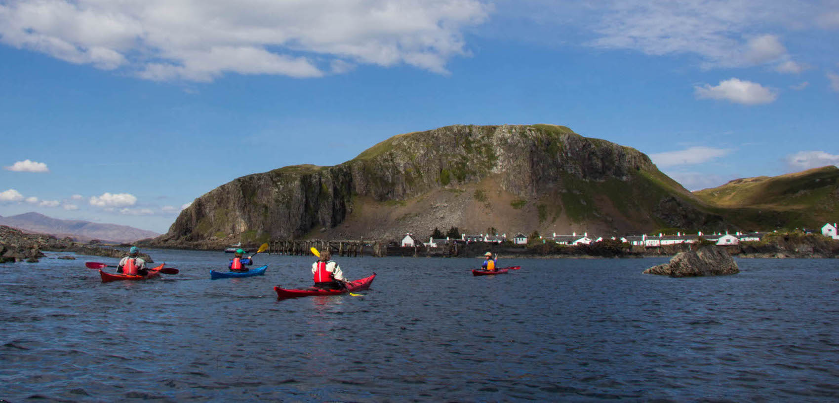 Sea Kayak Scotland based at Cuan