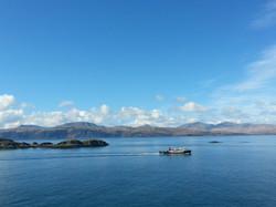 Calmac ferry from Mull