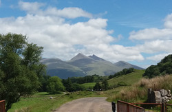 Ben Cruachan (our nearest Monro)
