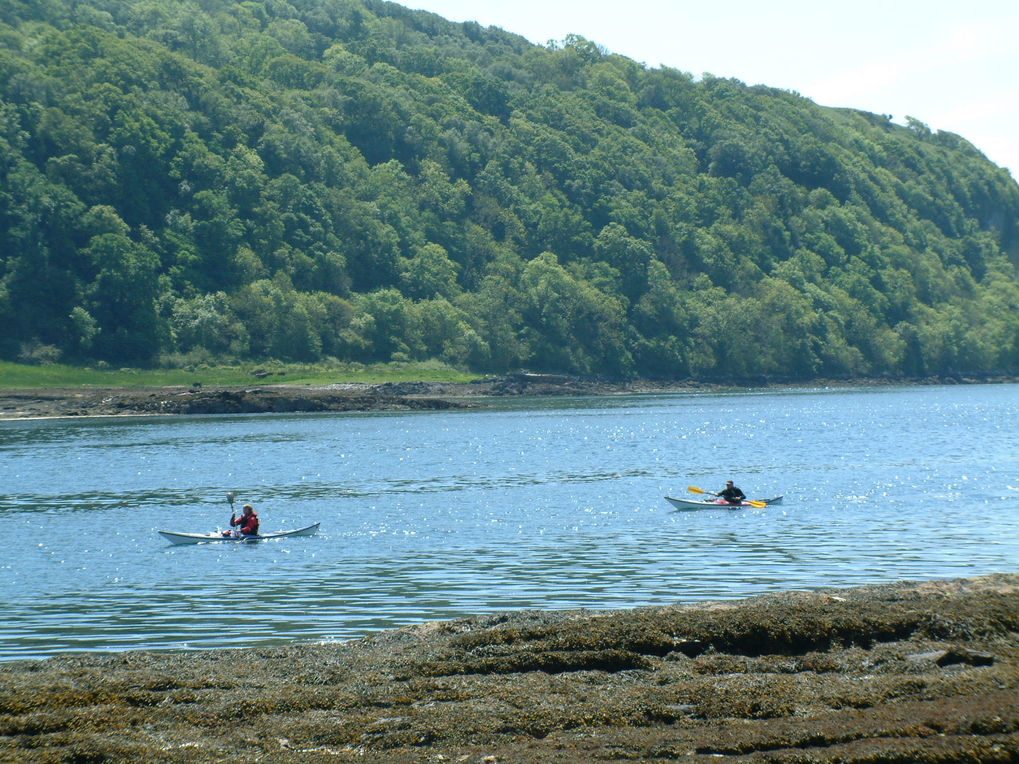 Kayakers on Seil Sound