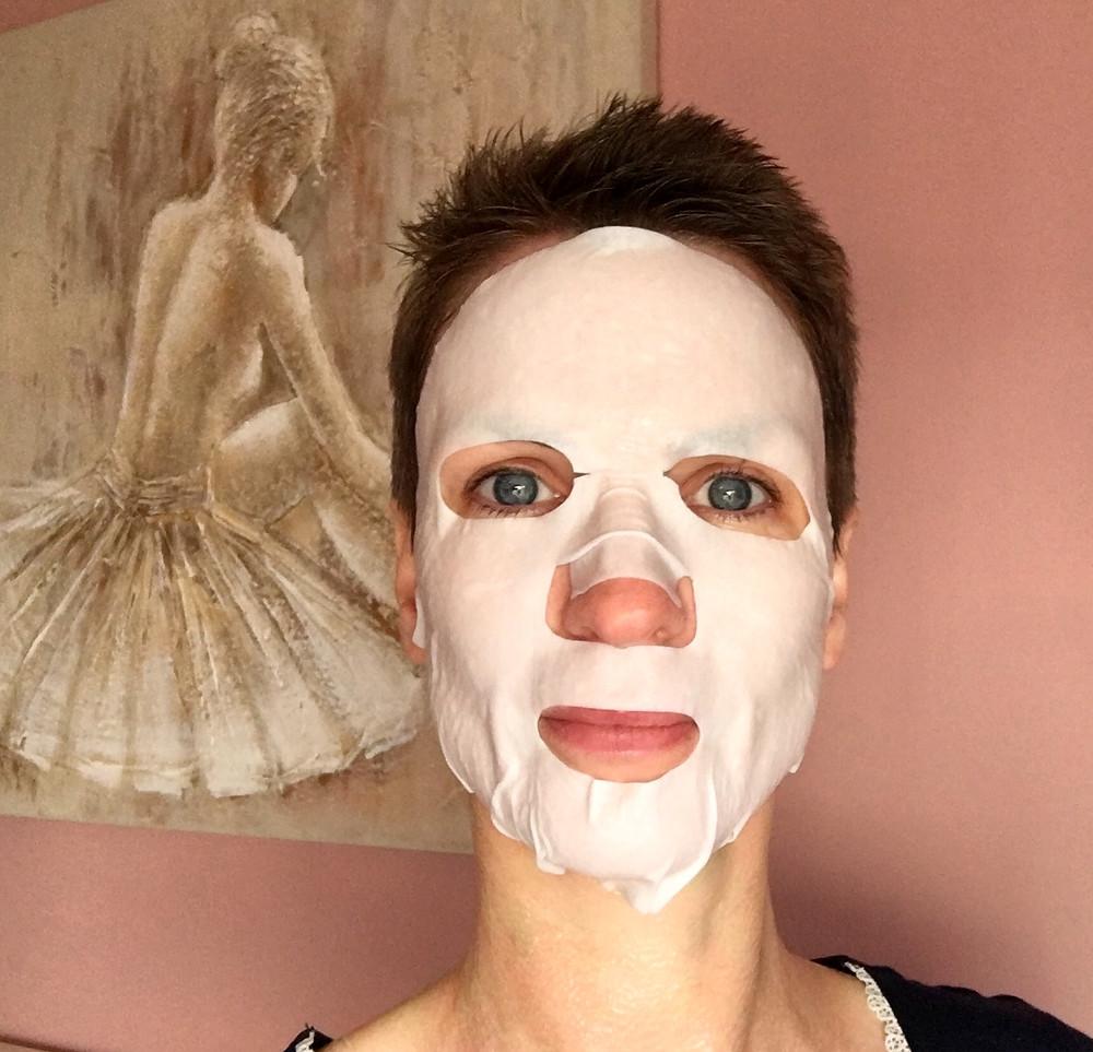 Too Cool For School Egg Cream sheet mask