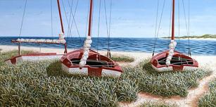 Three Cat Boats