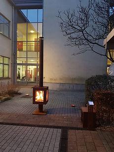 Woodchuck S tuinhaard bij nieuwjaarsdrink 2020 in Bertem