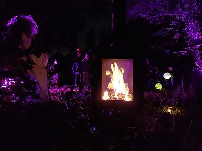 Woodchuck S tuinkachel bij de druide van Mysterieuze bossen in Kortenberg