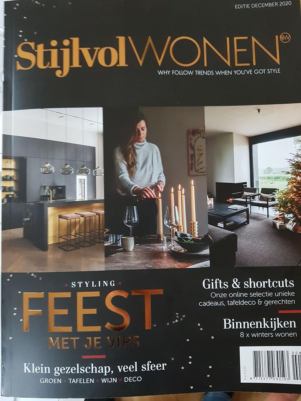 Stijlvol wonen cover Kersteditie December 2020