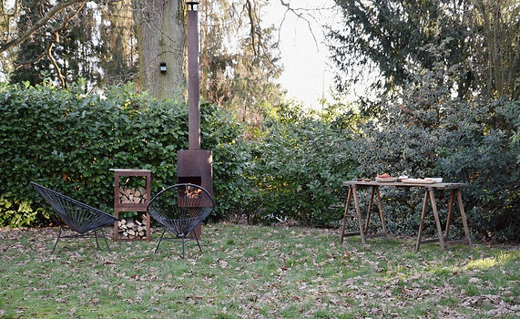 Woodchuck C Tuinhaard met barbeque