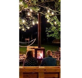 Woodchuck S terraskachel  bij Connection Glamping in Durbuy 2020