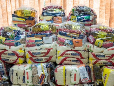 Prefeitura de Mariana inicia distribuição das cestas básicas para os alunos da rede municipal