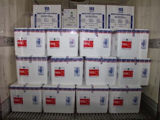 Governo de Minas envia vacinas contra Covid-19 da Pfizer para 47 municípios