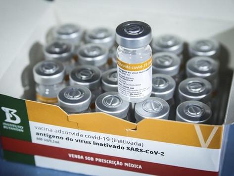 Minas Gerais recebe lote com mais de 300 mil doses de vacina contra a Covid-19