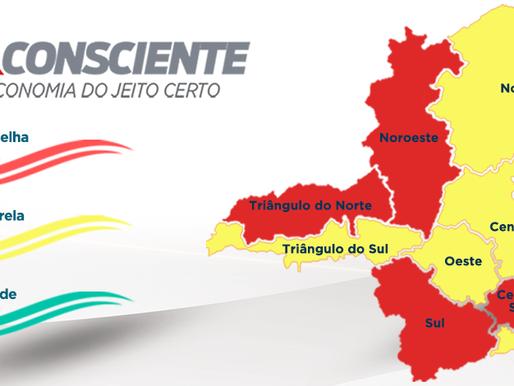 Mariana, Ouro Preto e Itabirito avançam para a onda amarela