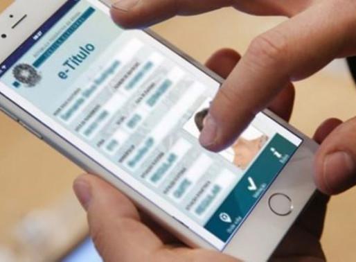Eleitores poderão justificar ausência nas urnas através de aplicativo