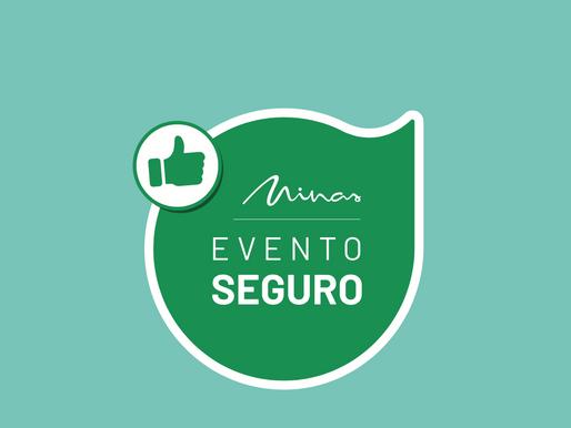 Selo Evento Seguro já pode ser solicitado por estabelecimento e espaços para eventos em Minas Gerais