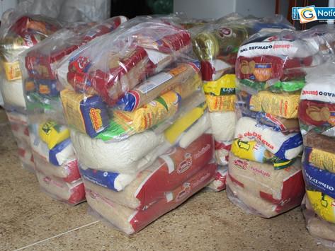 Prefeitura de Mariana inicia entrega das cestas básicas às famílias dos alunos