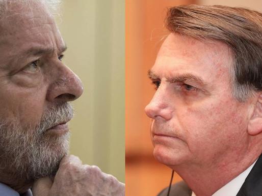 Lula segue na frente de Bolsonaro para as eleições de 2022 e venceria no 2º turno, diz Datafolha