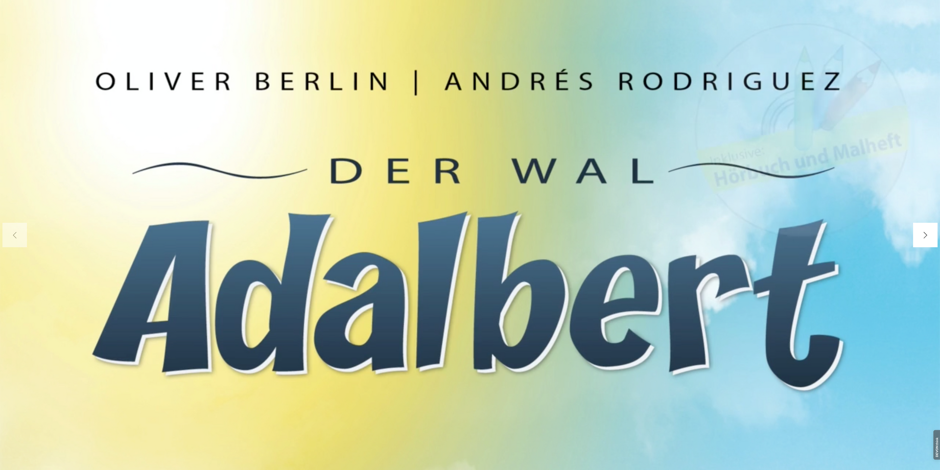 Der Wal Adalbert – Buchbewerbung