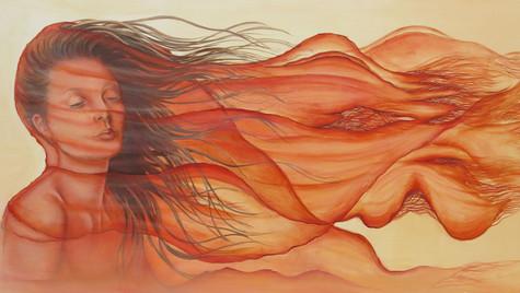 60 x 100 cm Öl auf Leinwand