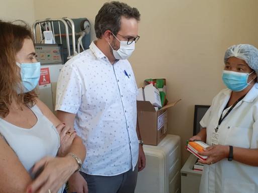 Ouro Preto recebe segunda remessa de vacinas contra a Covid-19