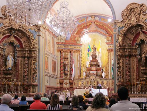 Arquidiocese de Mariana anuncia volta das missas com a presença dos fiéis