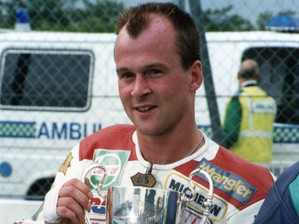 1993 Steve Hislop winner of the Squib Buton Cup
